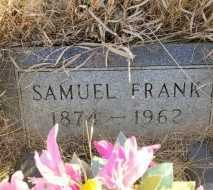 FRANK, SAMUEL - Sheridan County, North Dakota | SAMUEL FRANK - North Dakota Gravestone Photos