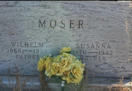 MOSER, WILHELM - Sheridan County, North Dakota | WILHELM MOSER - North Dakota Gravestone Photos