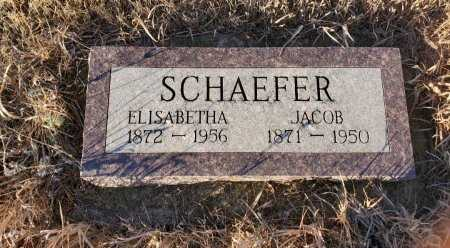 SCHAEFER, ELISABETHA - Sheridan County, North Dakota | ELISABETHA SCHAEFER - North Dakota Gravestone Photos