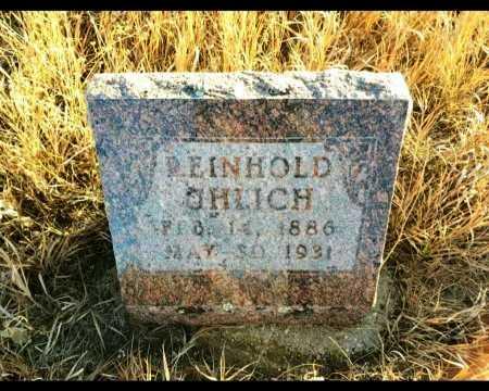 UHLICH, REINHOLD - Sheridan County, North Dakota   REINHOLD UHLICH - North Dakota Gravestone Photos
