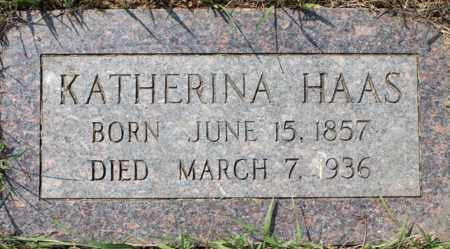 HAAS, KATHERINA - Stutsman County, North Dakota | KATHERINA HAAS - North Dakota Gravestone Photos