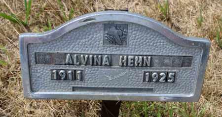 HEHN, ALVINA - Stutsman County, North Dakota   ALVINA HEHN - North Dakota Gravestone Photos