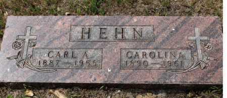 HEHN, CAROLINA - Stutsman County, North Dakota | CAROLINA HEHN - North Dakota Gravestone Photos