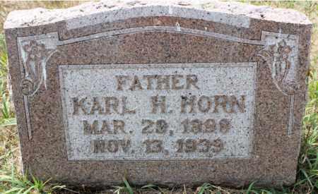 HORN, KATL H. - Stutsman County, North Dakota | KATL H. HORN - North Dakota Gravestone Photos