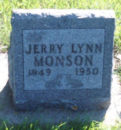 MONSON, JERRY LYNN - Stutsman County, North Dakota | JERRY LYNN MONSON - North Dakota Gravestone Photos