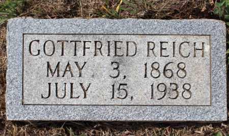 REICH, GOTTFRIED - Stutsman County, North Dakota | GOTTFRIED REICH - North Dakota Gravestone Photos
