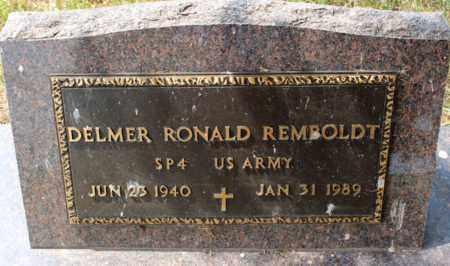 REMBOLDT, DELMER RONALD - Stutsman County, North Dakota | DELMER RONALD REMBOLDT - North Dakota Gravestone Photos