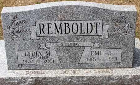 REMBOLDT, EMIL J. - Stutsman County, North Dakota | EMIL J. REMBOLDT - North Dakota Gravestone Photos