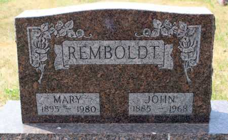 REMBOLDT, MARY - Stutsman County, North Dakota | MARY REMBOLDT - North Dakota Gravestone Photos