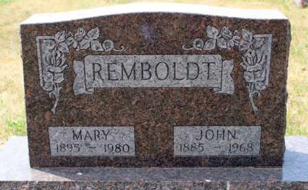 REMBOLDT, JOHN - Stutsman County, North Dakota | JOHN REMBOLDT - North Dakota Gravestone Photos