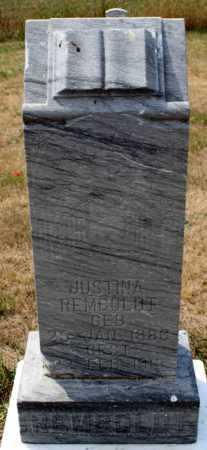 REMBOLDT, JUSTINA - Stutsman County, North Dakota | JUSTINA REMBOLDT - North Dakota Gravestone Photos