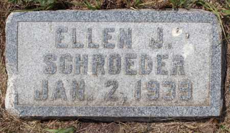 SCHROEDER, ELLEN J. - Stutsman County, North Dakota | ELLEN J. SCHROEDER - North Dakota Gravestone Photos