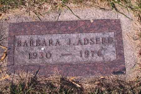 ADSERO, BARBARA J. - Traill County, North Dakota | BARBARA J. ADSERO - North Dakota Gravestone Photos