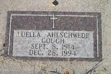 GOUGH AHLSCHWEDE, LUELLA - Traill County, North Dakota   LUELLA GOUGH AHLSCHWEDE - North Dakota Gravestone Photos