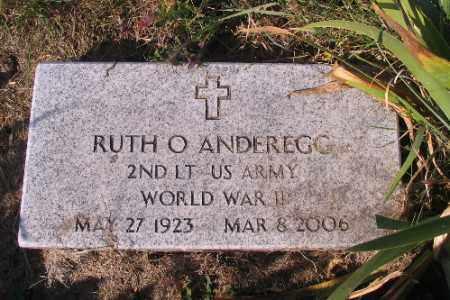 ANDEREGG, RUTH O. - Traill County, North Dakota | RUTH O. ANDEREGG - North Dakota Gravestone Photos