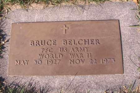 BELCHER, BRUCE - Traill County, North Dakota | BRUCE BELCHER - North Dakota Gravestone Photos