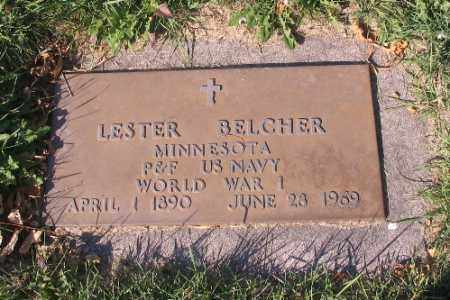BELCHER, LESTER - Traill County, North Dakota   LESTER BELCHER - North Dakota Gravestone Photos