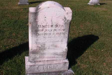 BELL, JAMES W. - Traill County, North Dakota   JAMES W. BELL - North Dakota Gravestone Photos