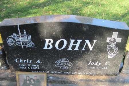 BOHN, CHRIS A. - Traill County, North Dakota   CHRIS A. BOHN - North Dakota Gravestone Photos