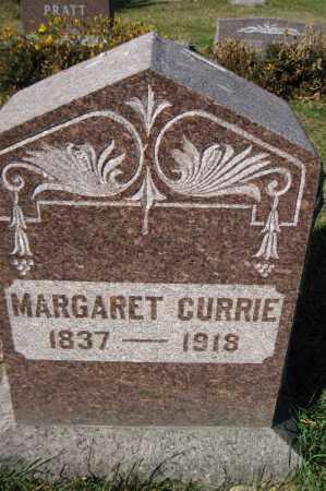 CURRIE, MARGARET - Traill County, North Dakota   MARGARET CURRIE - North Dakota Gravestone Photos