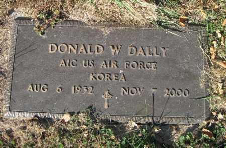 DALLY, DONALD W. - Traill County, North Dakota | DONALD W. DALLY - North Dakota Gravestone Photos