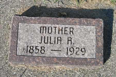 DALLY, JULIA A. - Traill County, North Dakota | JULIA A. DALLY - North Dakota Gravestone Photos