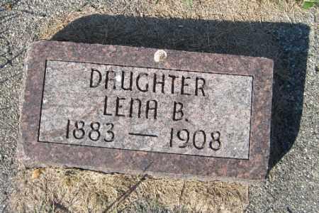 DALLY, LENA B. - Traill County, North Dakota | LENA B. DALLY - North Dakota Gravestone Photos