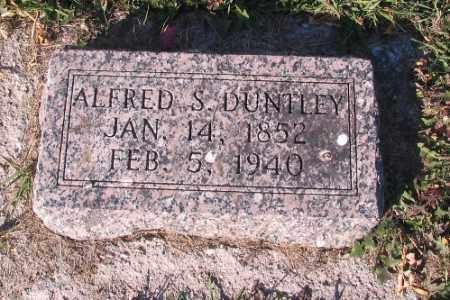 DUNTLEY, ALFRED S. - Traill County, North Dakota   ALFRED S. DUNTLEY - North Dakota Gravestone Photos
