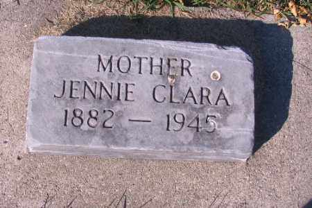 ELLIOT, JENNIE CLARA - Traill County, North Dakota | JENNIE CLARA ELLIOT - North Dakota Gravestone Photos