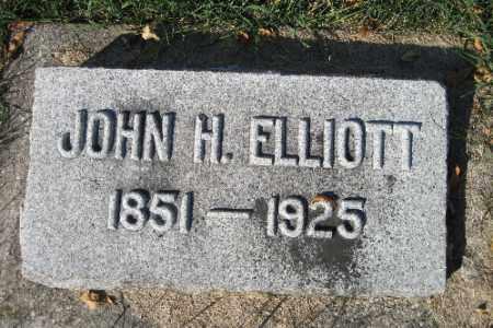 ELLIOTT, JOHN H. - Traill County, North Dakota | JOHN H. ELLIOTT - North Dakota Gravestone Photos