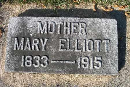 ELLIOTT, MARY - Traill County, North Dakota | MARY ELLIOTT - North Dakota Gravestone Photos