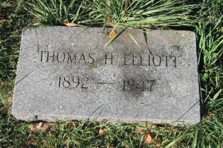 ELLIOTT, THOMAS H. - Traill County, North Dakota   THOMAS H. ELLIOTT - North Dakota Gravestone Photos