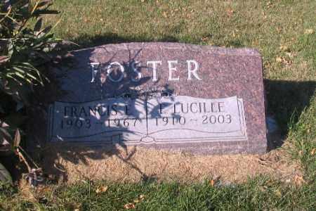 FOSTER, L. LUCILLE - Traill County, North Dakota   L. LUCILLE FOSTER - North Dakota Gravestone Photos