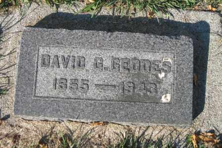 GEDDES, DAVID G. - Traill County, North Dakota   DAVID G. GEDDES - North Dakota Gravestone Photos