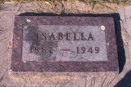 GORDON, ISABELLA - Traill County, North Dakota   ISABELLA GORDON - North Dakota Gravestone Photos