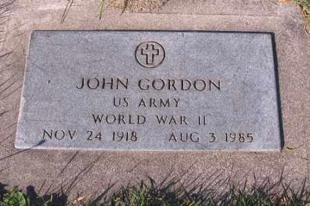 GORDON, JOHN - Traill County, North Dakota   JOHN GORDON - North Dakota Gravestone Photos