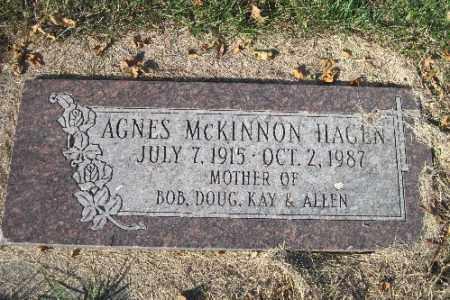 HAGEN, AGNES - Traill County, North Dakota | AGNES HAGEN - North Dakota Gravestone Photos