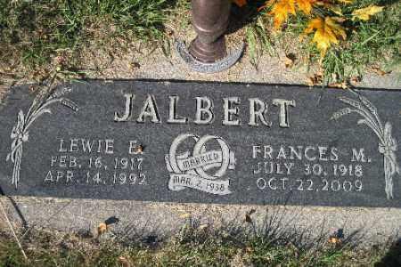 JALBERT, LEWIE E. - Traill County, North Dakota | LEWIE E. JALBERT - North Dakota Gravestone Photos