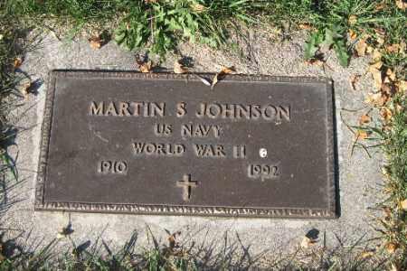 JOHNSON, MARTIN S. - Traill County, North Dakota | MARTIN S. JOHNSON - North Dakota Gravestone Photos