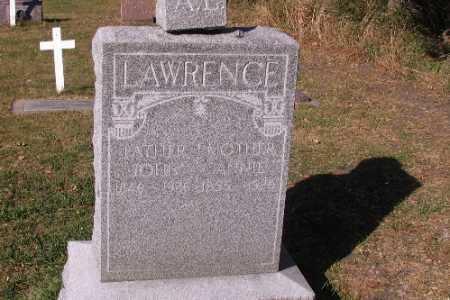 LAWRENCE, JOHN - Traill County, North Dakota   JOHN LAWRENCE - North Dakota Gravestone Photos