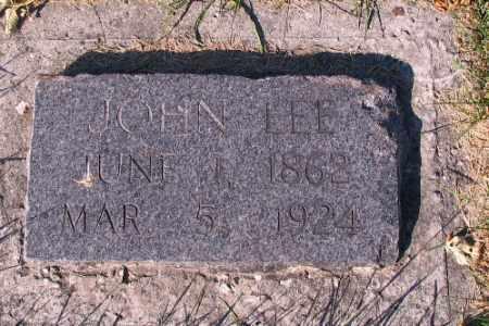 LEE, JOHN - Traill County, North Dakota   JOHN LEE - North Dakota Gravestone Photos