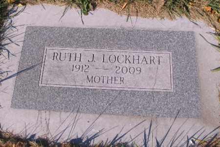 LOCKHART, RUTH J. - Traill County, North Dakota | RUTH J. LOCKHART - North Dakota Gravestone Photos