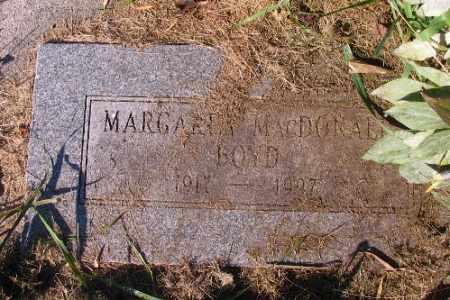 BOYD MACDONALD, MARGARET - Traill County, North Dakota | MARGARET BOYD MACDONALD - North Dakota Gravestone Photos