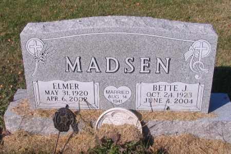 MADSEN, ELMER - Traill County, North Dakota   ELMER MADSEN - North Dakota Gravestone Photos