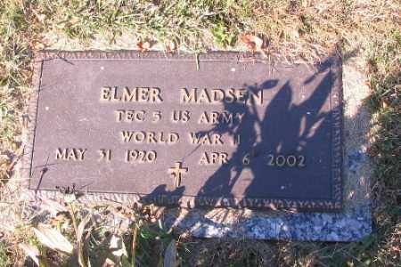 MADSEN, ELMER - Traill County, North Dakota | ELMER MADSEN - North Dakota Gravestone Photos