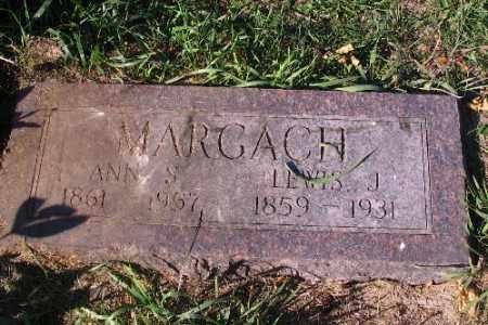 MARGACH, LEWIS J. - Traill County, North Dakota | LEWIS J. MARGACH - North Dakota Gravestone Photos