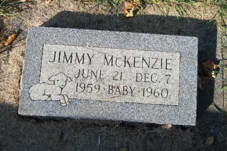 MCKENZIE, JIMMY - Traill County, North Dakota | JIMMY MCKENZIE - North Dakota Gravestone Photos