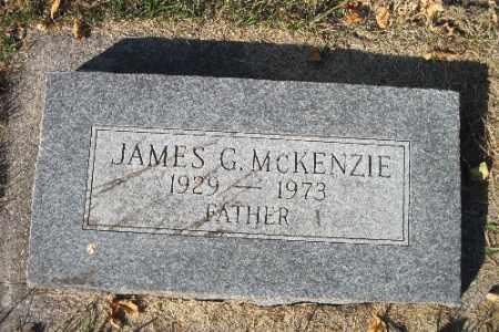 MCKENZIE, JAMES G. - Traill County, North Dakota   JAMES G. MCKENZIE - North Dakota Gravestone Photos