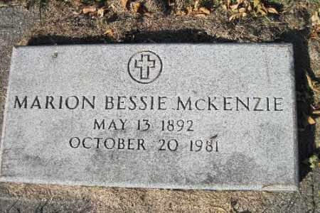 MCKENZIE, MARION BESSIE - Traill County, North Dakota | MARION BESSIE MCKENZIE - North Dakota Gravestone Photos