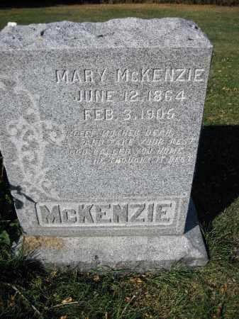MCKENZIE, MARY - Traill County, North Dakota | MARY MCKENZIE - North Dakota Gravestone Photos